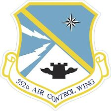 US Air Force USAF 552d Air Control Wing Decal / Sticker