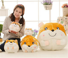 Cute vole plush toys hamster Hamtaro soft toy Kids stuffed toy doll Pillow IB