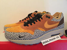 NIKE AIR MAX 1 PREMIUM QS ATMOS SAFARI 12 11 10 9 8 7 6  2016 ORANGE CARROT PRM