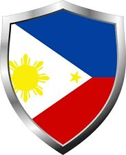 Philippines Flag Shield Decal / Sticker