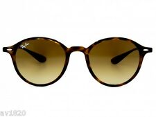 UNISEX LIGHT RAY RAY BAN RB4237-5 POLARIZED MIRROR GRADIENT 100%UV MADE IN ITALY