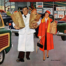Sack Full of Trouble by Richard Sargent Painting Print on Wrapped Canvas