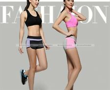 New Women Fashion Workout Gym Shorts Running Fitness Yoga Casual Short Pants S8