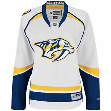 Nashville Predators Reebok Women's Premier Road Jersey - White - NHL