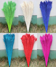 perfect 50-200PCS 75-80cm/28-30inch Featured Quality peacock feathers eye7