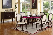 Dining Room Contemporary Dining Chairs Cream upholstered furniture chair
