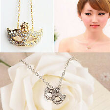 Mask Set Auger Flower Necklace Brief Paragraph Sweater Collar Delicate Chain