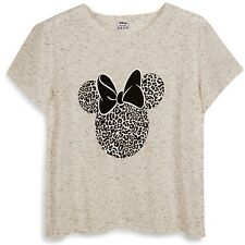 Ladies DISNEY MINNIE MOUSE T Shirt Primark Cropped Tee Top