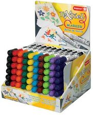 TEXTILE FABRIC MARKER PENS - PACK of 10 COLOURS