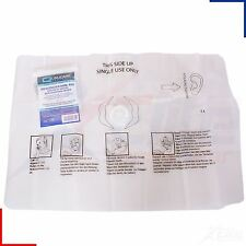 Qualicare Mouth to Mouth CPR Resuscitation Aid Face Shield With Valve