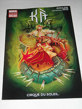 SDCC 2014 EXCLUSIVE MARVEL COMIC KA CIRQUE DU SOLEIL #2 Custom Edition