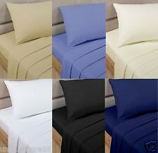 NEW 200 500 THREAD COUNT ORIGINAL 100% EGYPTIAN COTTON Duvet Set - Fitted Sheets