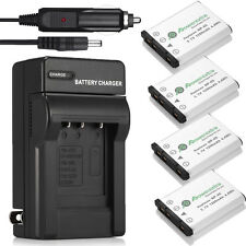 NP-45 NP-45A Battery + Charger For Fujifilm FinePix XP70 XP60 XP10 J40 T550 T500