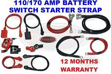 110 AMP 170 AMP HEAVY DUTY CABLE LIVE EARTH STRAP BATTERY LEAD NEGATIVE CAR VAN