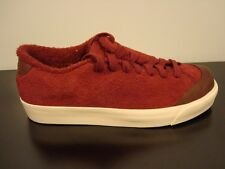 NEW MENS NIKE ALL COURT TWIST SUEDE SNEAKERS CASUAL SIZE 4 RED BROWN 417643 600