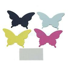 20pcs 3D Paper Butterfly/Dragonfly Wall DIY Art Decorations Stickers Label Notes
