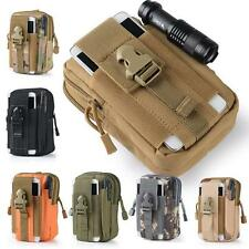 Outdoor Sport Molle Waist Pack Utility Fanny Army Pouch Belt Bag Running Hiking