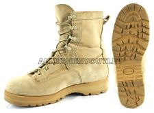US Military GORETEX 790 ICB INFANTRY COMBAT BOOTS Vibram USA MADE Tan EXCELLENT