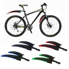 Mountain Bike Bicycle Front & Rear Tire Wheel Mudguards Fenders Sset