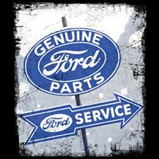Genuine Ford Parts Sign T-Shirt Vintage Style Truck Auto Car Youth & Adult Sizes
