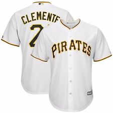 2016 ROBERTO CLEMENTE MAJESTIC Pittsburgh Pirates Home Cool Base Jersey Men's