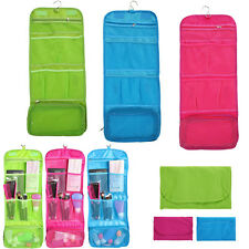 Travel Cosmetic Makeup Bag Toiletry Case Wash Organizer Storage Hanging Pouch A