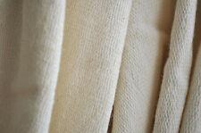 Organic Cotton French Terry Fabric - Natural