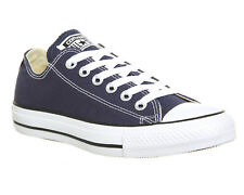 Mens Converse All Star Low NAVY CANVAS Trainers Shoes