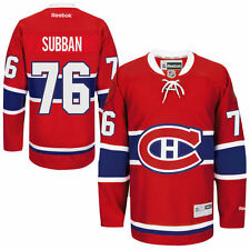 Youth Reebok PK Subban Red Montreal Canadiens Home Premier Player Hockey Jersey