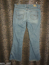"BKE Buckle Denim Women's ""DUSTY"" Vented Flare Leg Denim Blue Jeans Size 31x31.5"