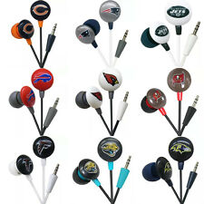 iHip NFL Football Earbuds Earphones - 11 Teams To Choose From