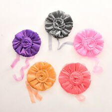 1/2x Clip-on Rose Flower Window Curtain Holdbacks Tie Back Holder Voile Panel