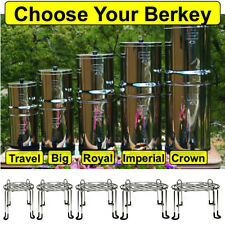 Berkey Water Filtration System w/ Wire Stand - Crown Imperial Royal Big Travel