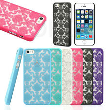 Clear Transparent Crystal Soft TPU Silicone Gel Cover Case Skin for iPhone 5s S
