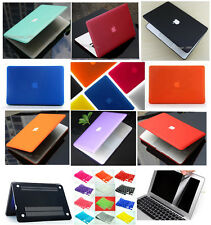 "Matte Hard Case Keyboard Cover Screen Protector For Apple MacBook Air 13"" A1369"