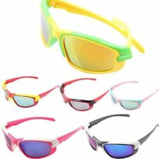 Kids  UV400 Reflective sports Sunglasses Outdoor Cycling Bicycle Eyewear