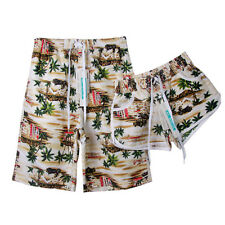 Women Men Surf Boardshorts Board Trunks Shorts Sports Lovers Beach Swim Pants