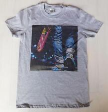 Back to the future Grey T-Shirt Size S-XXXL 80s Marty McFly Hoverboard Air Mag