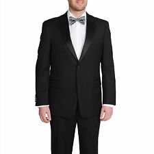 Tommy Hilfiger Black Wool Tuxedo Separates Jacket