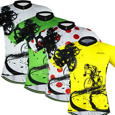 Leading Racer Men's Cycling Clothing Bike Bicycle Jerseys Cycling Shirts 4-Color