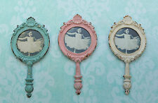 SASS & BELLE SHABBY CHIC BOUDOIR VINTAGE ANTIQUE WALL PHOTO FRAME MIRROR