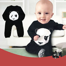 Newborn Toddler Baby Girls Boys Romper Panda Jumpsuit One-piece Outfits Clothing