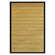 Solid Bamboo Area Rug