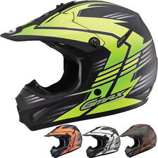 GMax GM46.2 Race Youth Motocross Dirt Bike Off Road Helmets