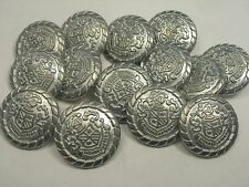 New lots Silver Military Metal Buttons Royal Crest 11/16, 13/16, 7/8 inch (S29)
