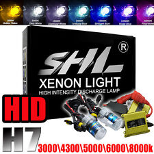 SHL 55W HID Xenon Conversion Kit Slim Ballast Conversion Headlight H7 6000/8000K