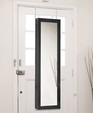 Baxton Studio Reflections Over the Door Jewelry Armoire with Mirror