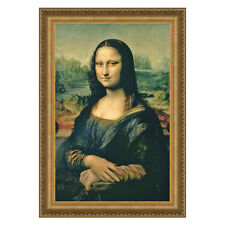 Design Toscano Mona Lisa, 1503-1506 by Leonardo da Vinci Framed Painting Print