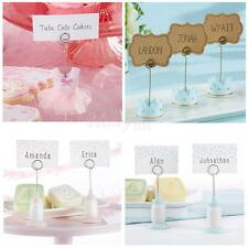 Dress/Feeding Bottle/Crown Place Card Holder Wedding Table Photo Name Clip