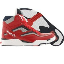 $139.99 Reebok Men Twilight Zone Pump (red / navy / silver) Limited Edition